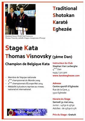 Tsk eghezee 2014 stage thomas visnovsky 31 05 2014